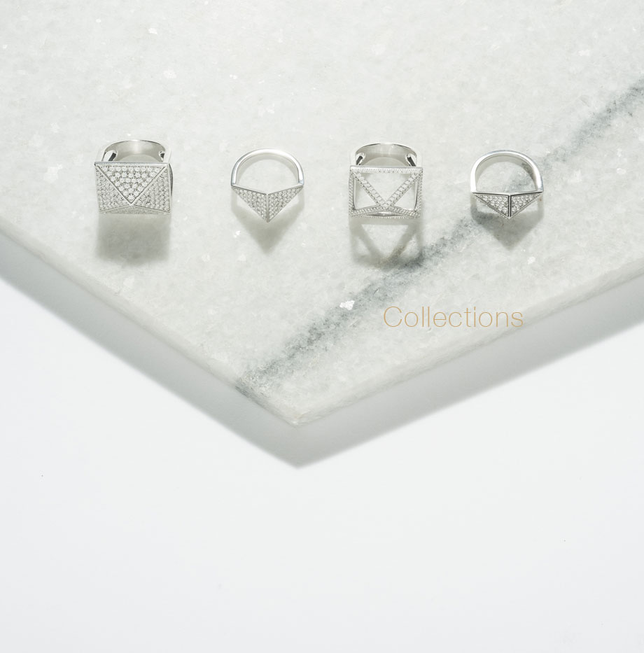 Our collections of diamonds jewels : lab grown diamonds and jewellery ethically minded