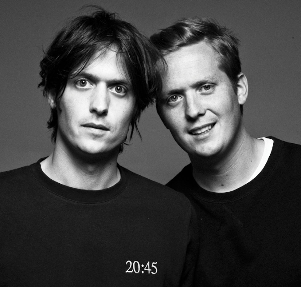 Maxime and Alexandre Mussard  portrait Twins for Peace
