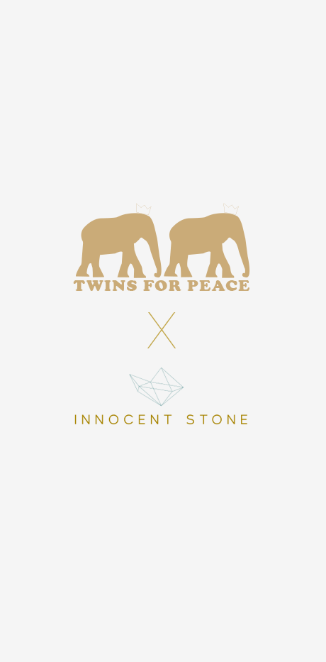 Jewels Twins for peace x Innocent Stone